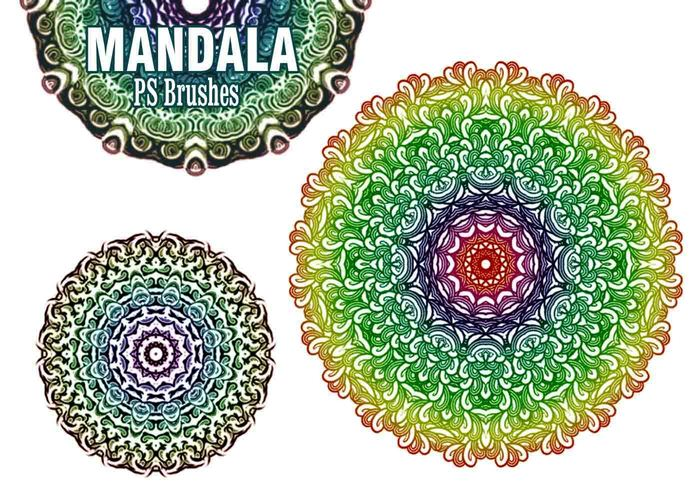 20 Mandala PS Bürsten abr. Vol.5