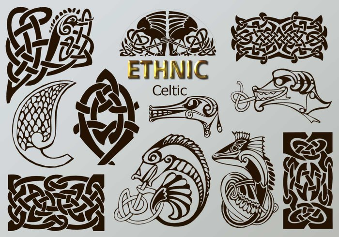20 Ethnic PS Brushes abr. vol.6