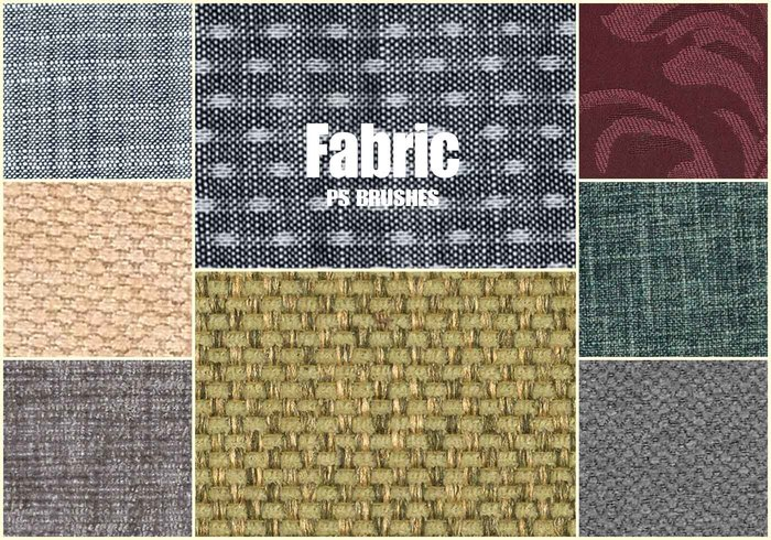 20 Fabric Texture PS Brushes abr.