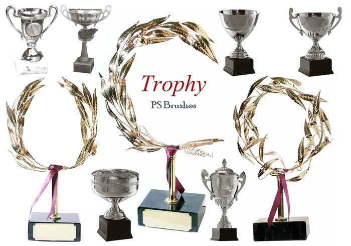20 Trophy PS Brushes abr. Vol.4