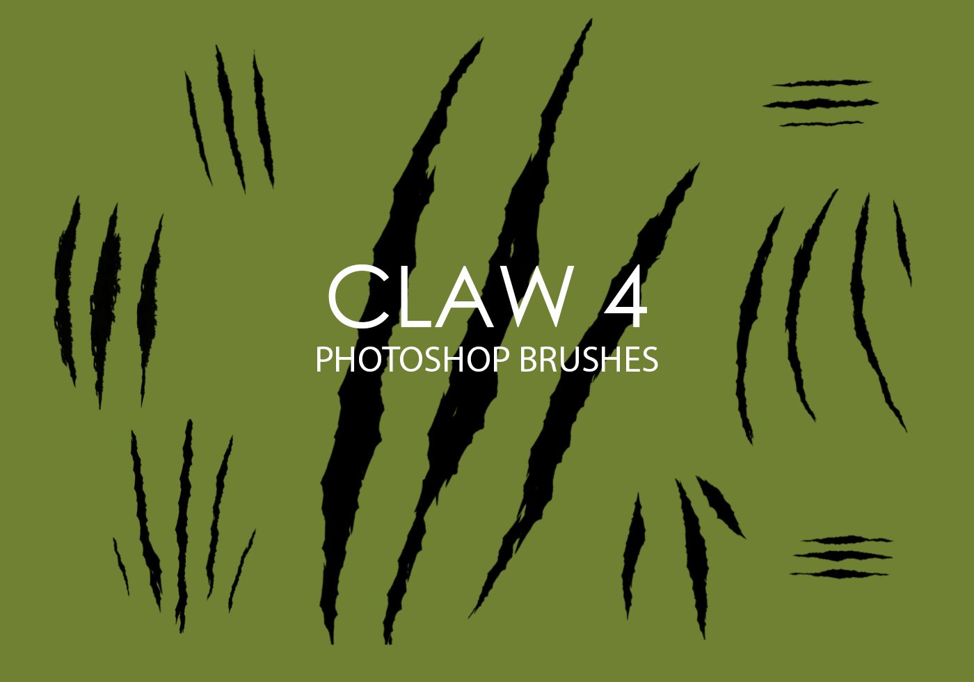 Claw Free Brushes - (127 Free Downloads)