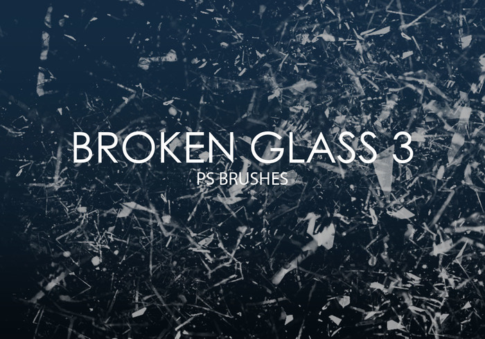 Free Broken Glass Photoshop Bürsten 3