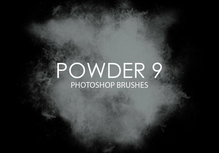 Free Powder Photoshop Pinsel 9