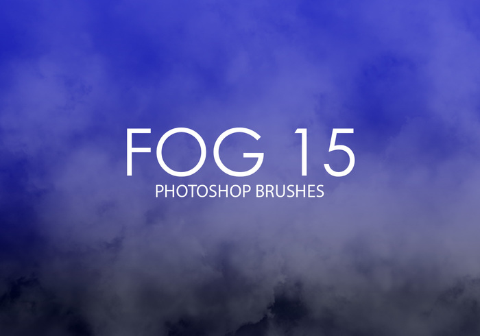 Libre Niebla Photoshop Brushes 15