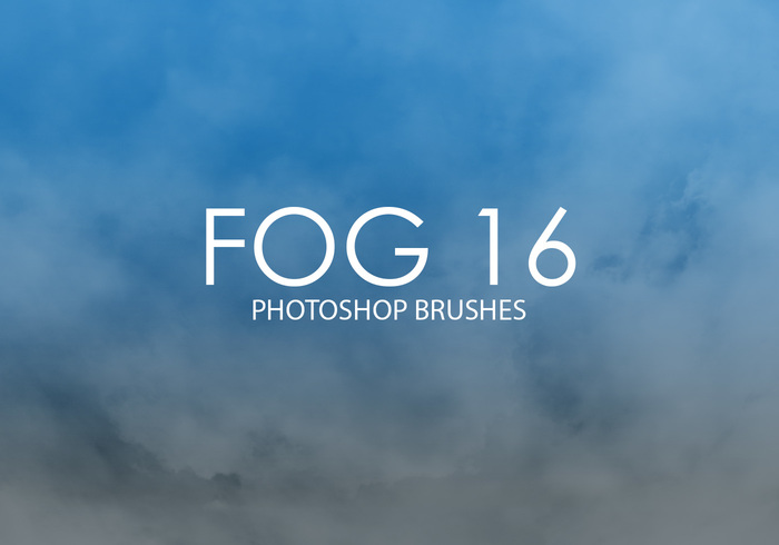 Escovas gratuitas do photoshop do Fog 16