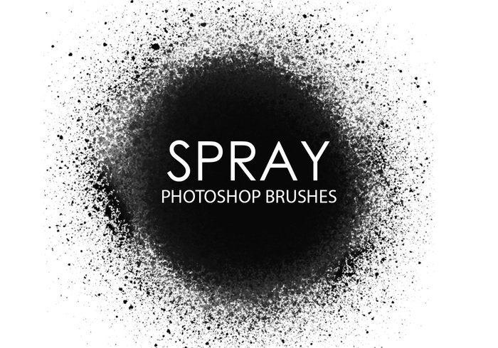 Pinceaux Gratin Spray Photoshop