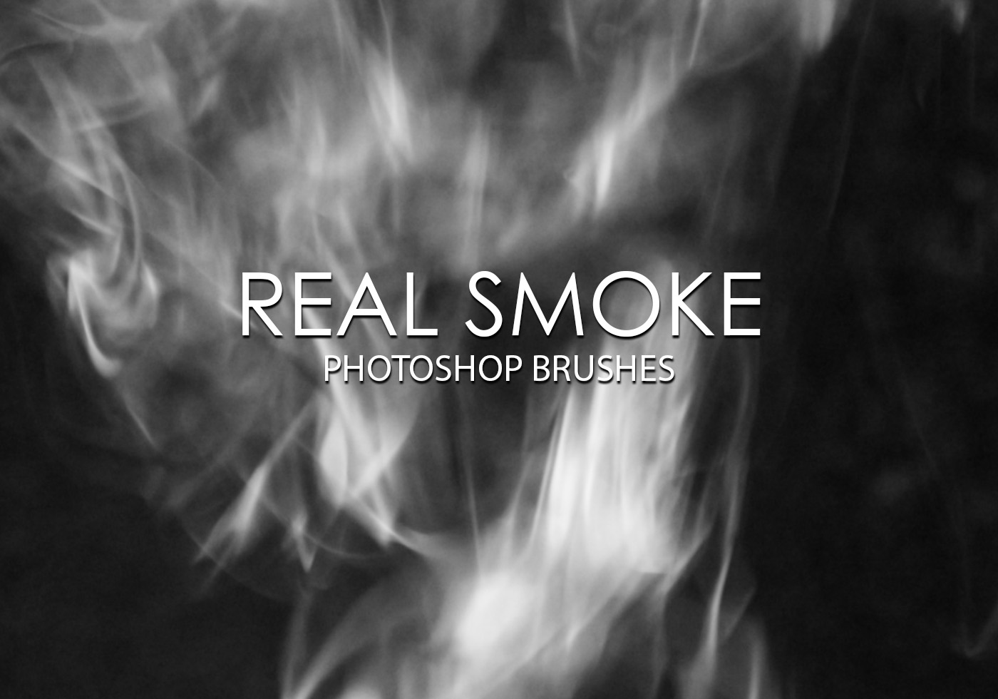 Real Smoke - Photoshop brushes