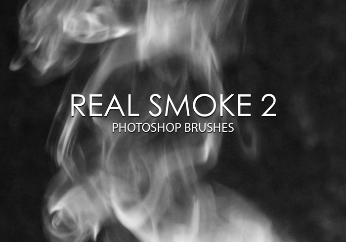 Free Real Smoke Photoshop Brushes 2