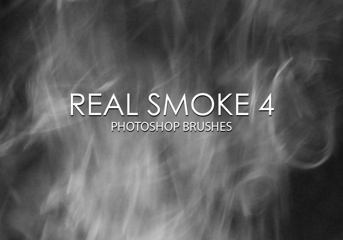 Free Real Smoke Photoshop Brushes 4