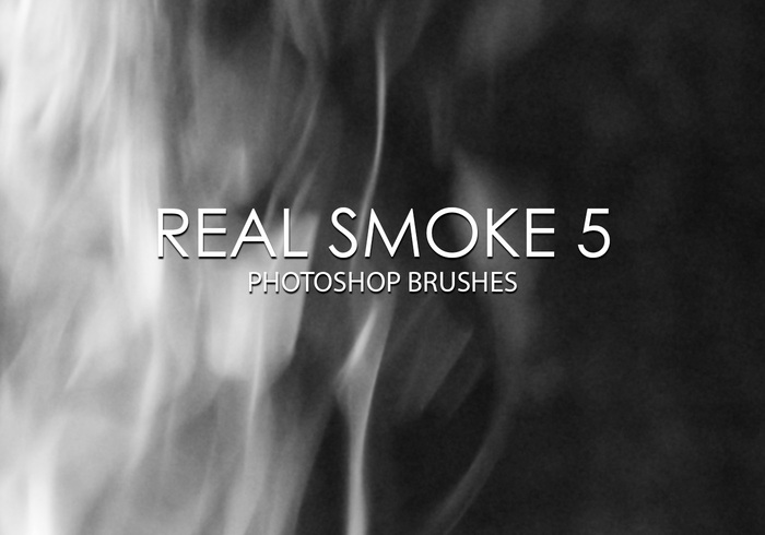 Free real smoke photoshop brush 5