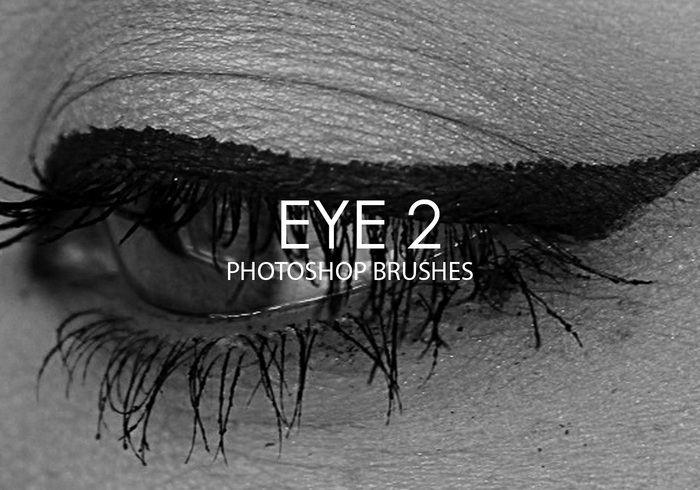 Gratis Eye Photoshop Brushes 2