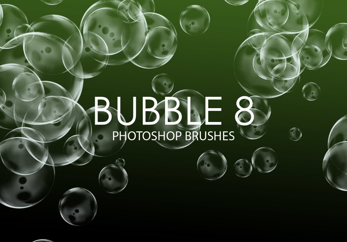 Gratis Bubble Pinceles para Photoshop 8
