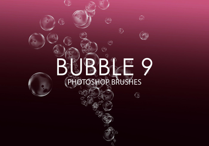 Free Bubble Pinceles para Photoshop 9