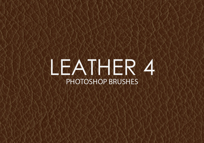 Free Leather Photoshop Brushes 4