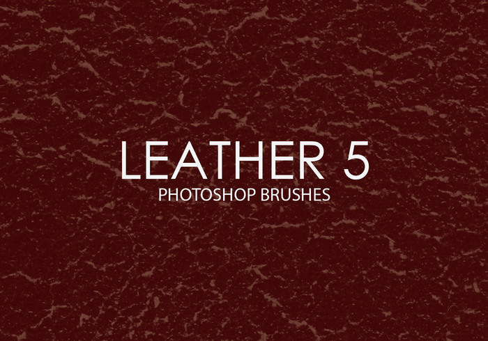 Free Leather Photoshop Brushes 5