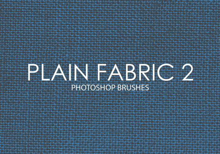 Free Plain Fabric Photoshop Brushes 2