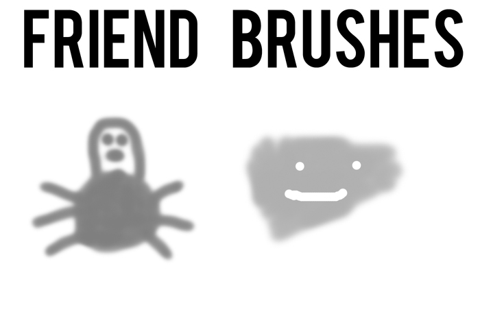 Friend Brushes