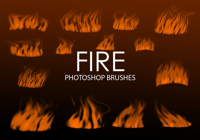 Gratis Digital Fire Photoshop Borstar