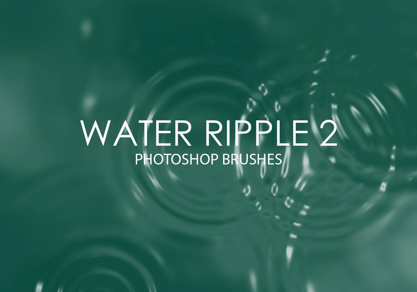 Water Ripples | Photoshop Free Brushes | 123Freebrushes