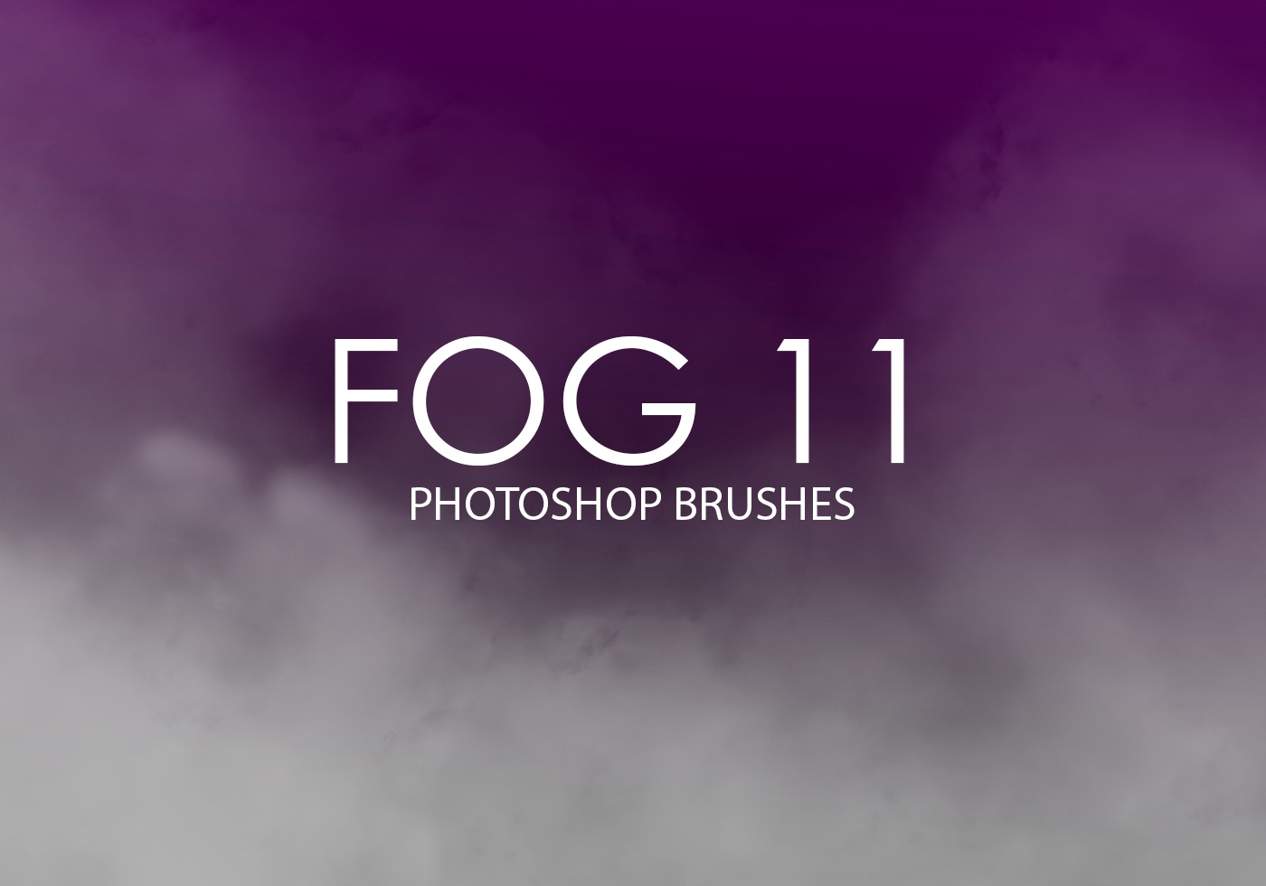 Free Fog Photoshop Brushes on Gas Pack Exhaust