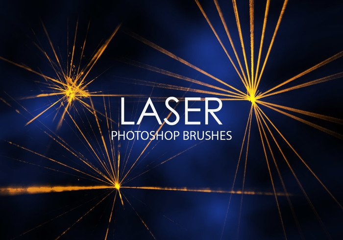Gratis Laser Photoshop Borstels