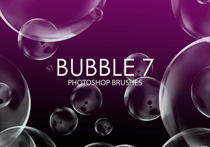 Free Bubble Photoshop Brushes 7