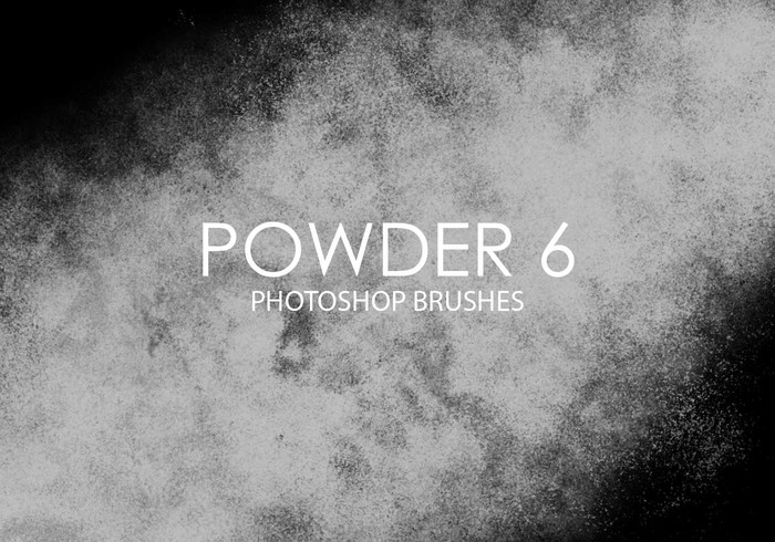 Free Powder Photoshop Brushes 6