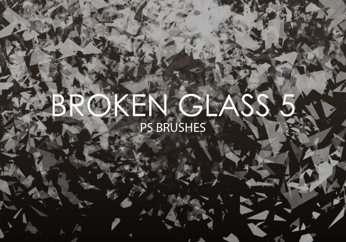 Free Broken Glass Photoshop Brushes 5