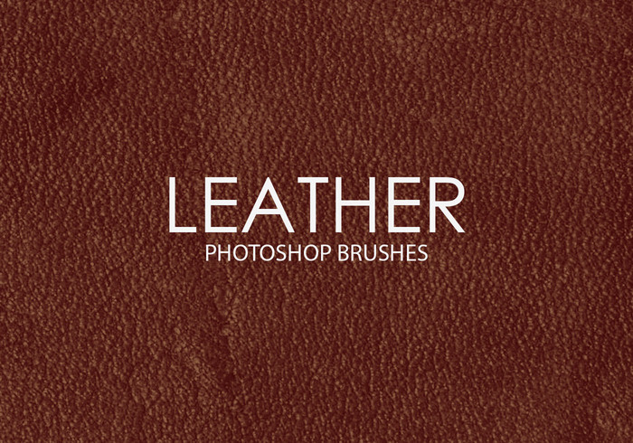 Free Leather Photoshop Brushes