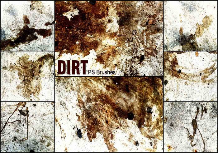 20 Dirt PS Bürsten abr vol.9