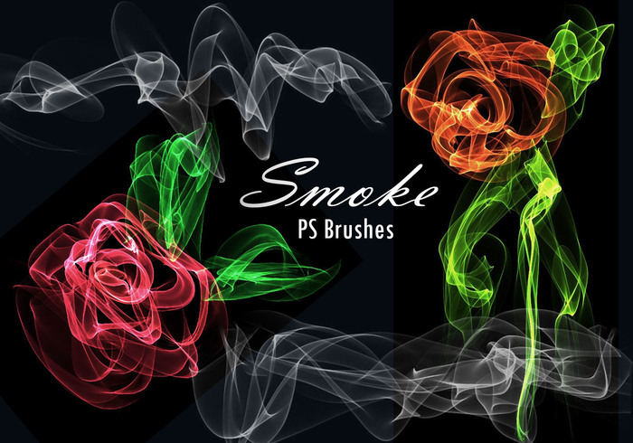 20 Smoke PS Brushes abr. Vol.12