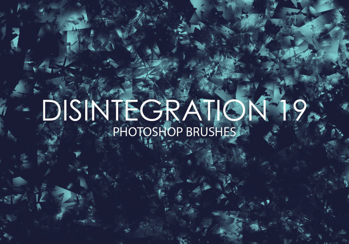Free Disintegration Photoshop Brushes 19