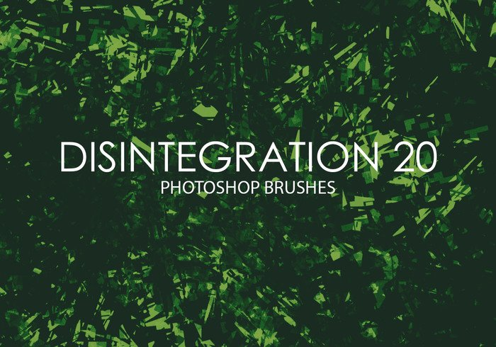 Free Disintegration Photoshop Brushes 20