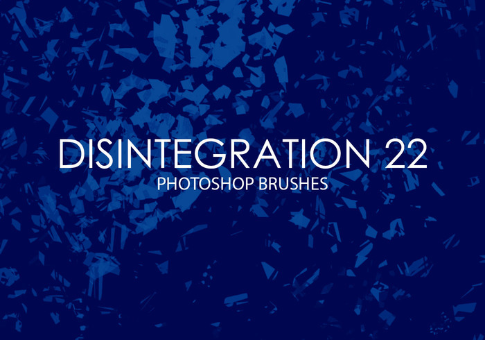Free Disintegration Photoshop Brushes 22