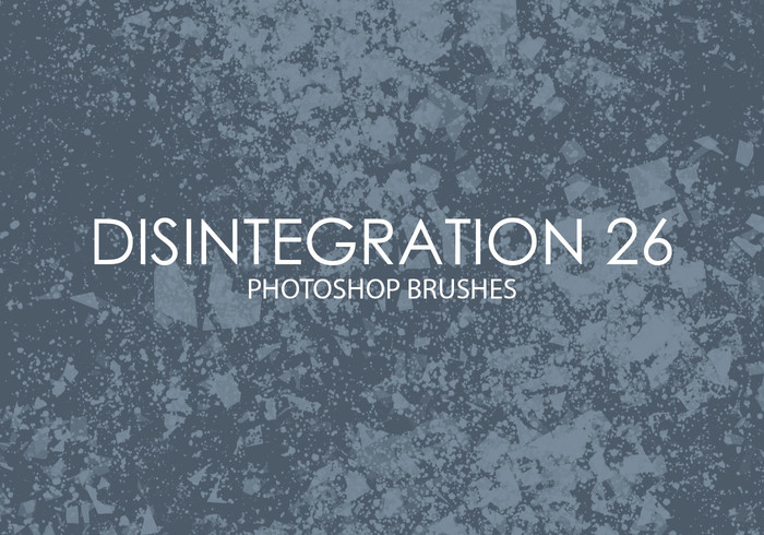 Free Disintegration Photoshop Brushes 26