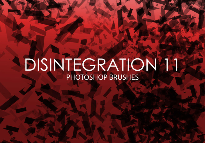 Free Disintegration Photoshop Bürsten 11