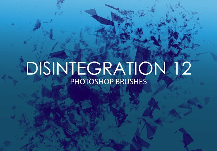 Free Disintegration Photoshop Brushes 12