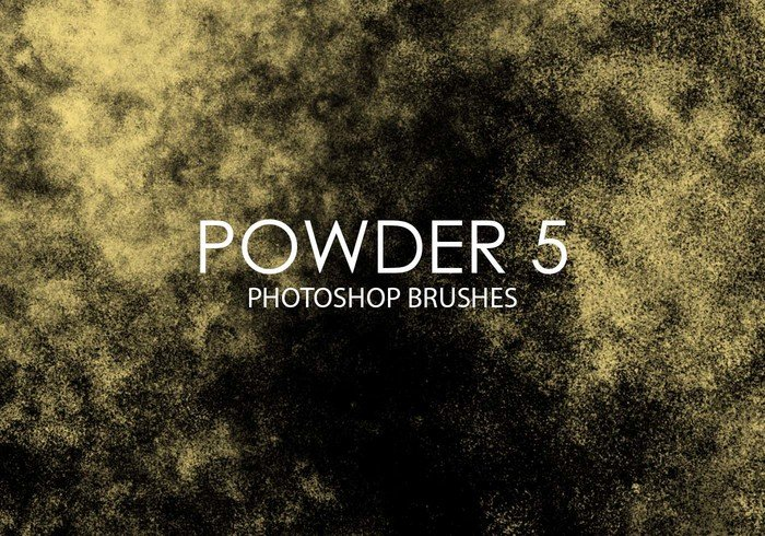 Free Powder Pinceles para Photoshop 5