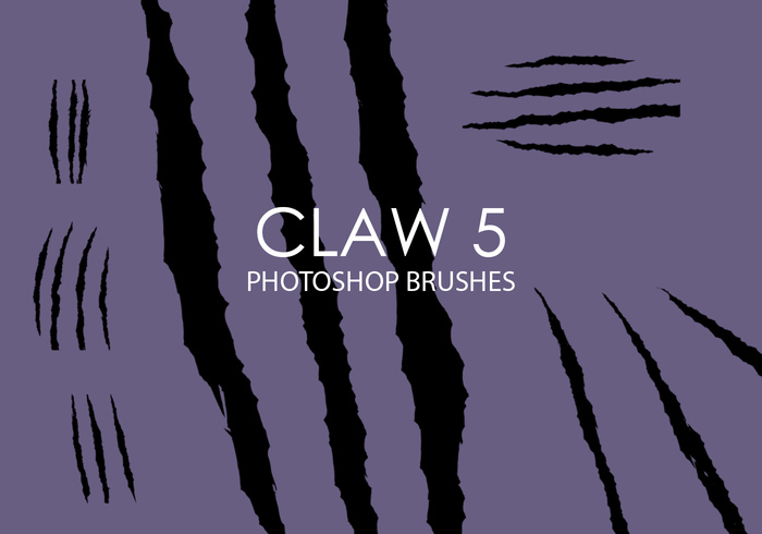 Gratis Claw Photoshop Borstels 5