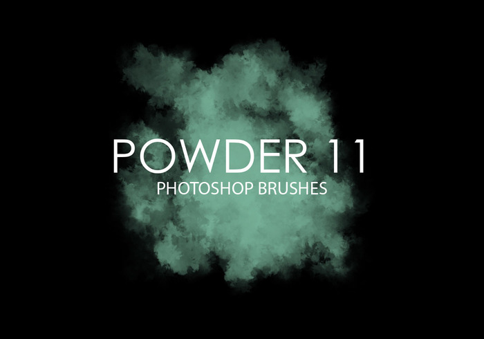 Free Powder Photoshop Brushes 11