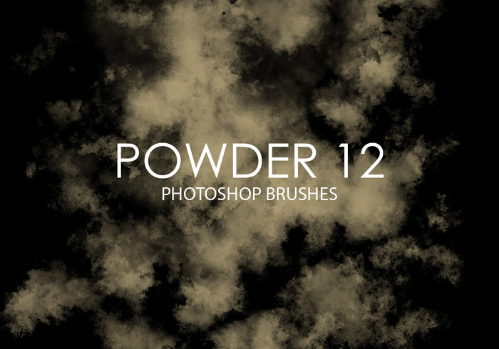 Gratis Powder Photoshop Borstar 12