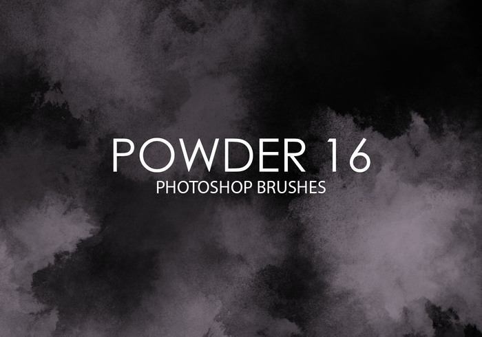 Gratis Powder Photoshop Borstar 16