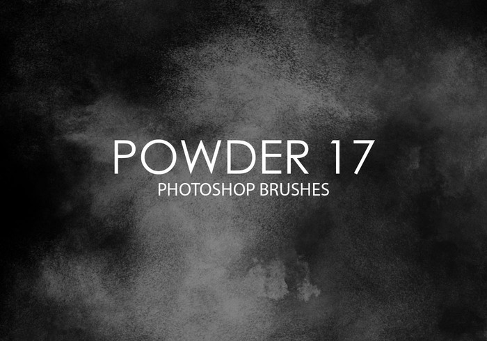 Gratis Powder Photoshop Borstar 17