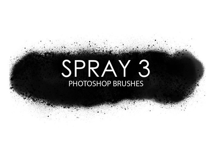 Escovas gratuitas do photoshop spray 3