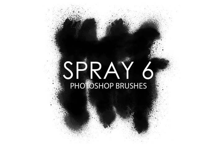 Free Spray Photoshop Brushes 6
