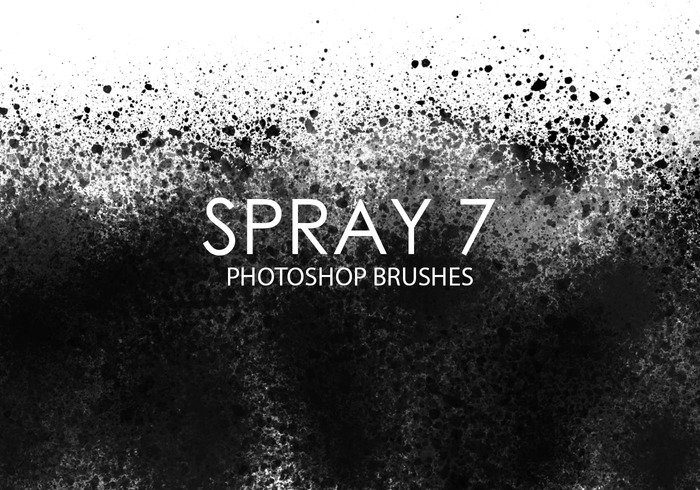 Free Spray Pinceles para Photoshop 7
