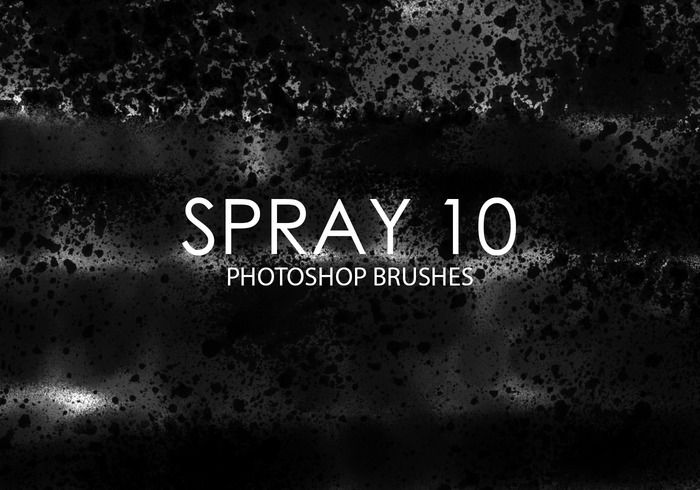 Gratis Spray Photoshop Borstels 10