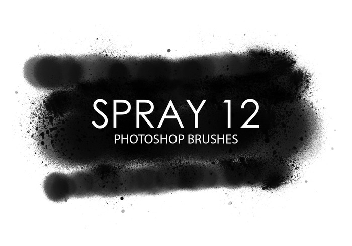 Free Spray Photoshop Brushes 12
