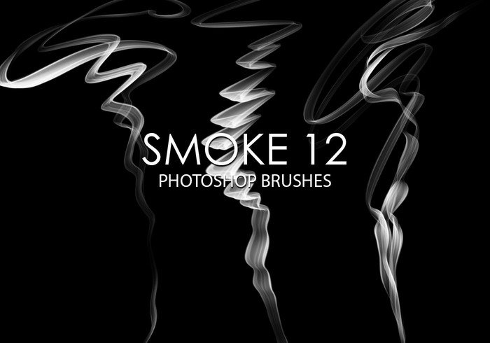 Free Smoke Pinceles para Photoshop 12