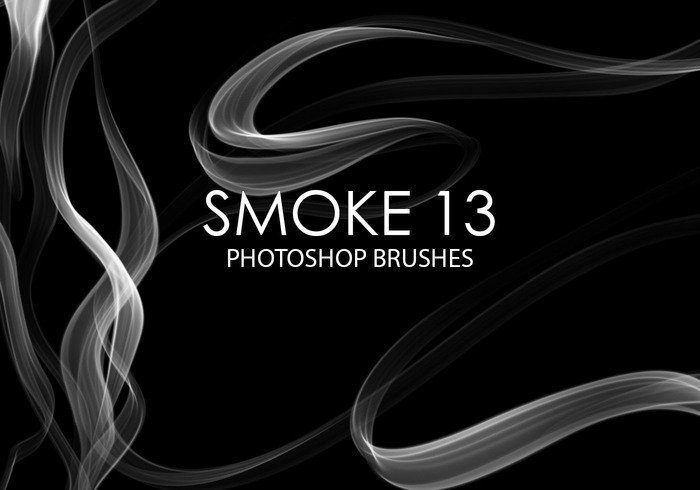 Free Smoke Pinceles para Photoshop 13